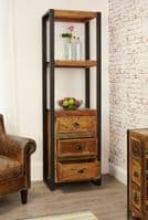 Baumhaus Urban Chic Alcove Bookcase With Drawers IRF01D | Urban Chic Baumhaus Bookcase Sale